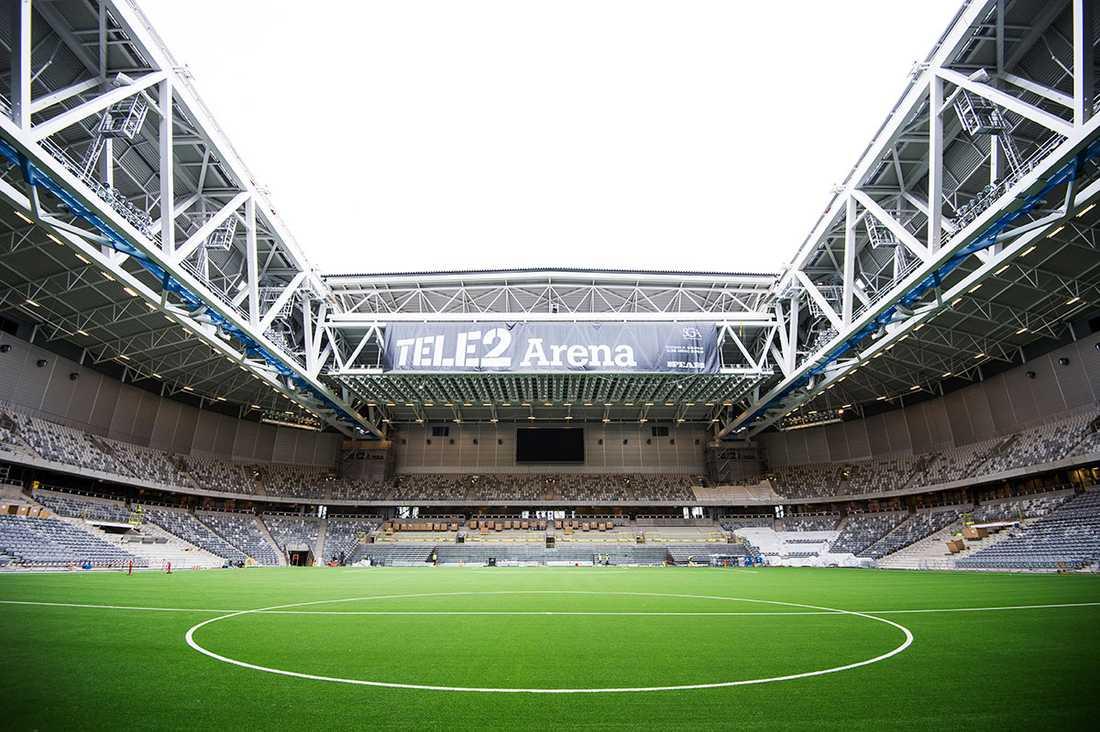 NU På onsdagen hölls visning av den färdiga arenan. I sommar väntar invigning och i höst spelar Djurgården och Hammarby här.