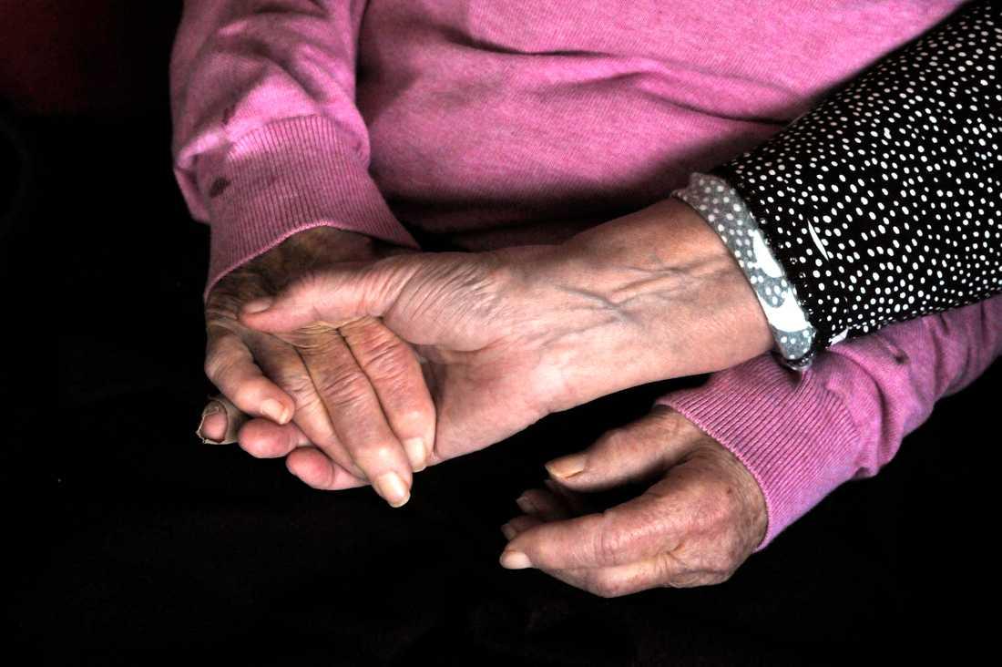 De senaste sex veckorna har 57 procent av samtliga avlidna i covid-19 bott på äldreboende. Arkivbild.