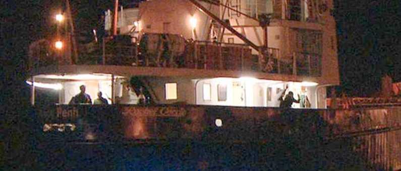 Det irländska fartyget M/S Rachel Corrie.