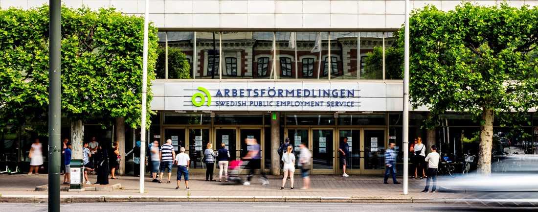 Arbetsförmedlingen på Föreningsgatan i Malmö.