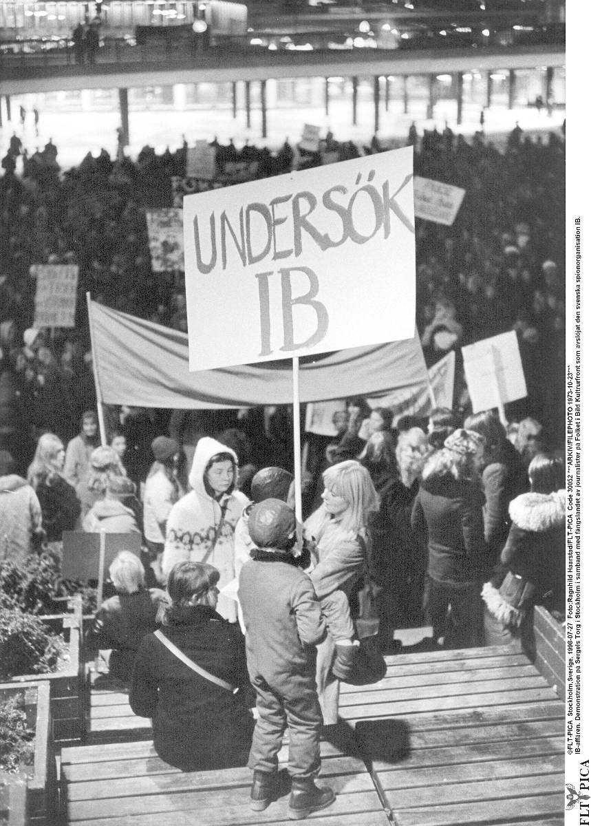 Peter Bratts och Jan Guillous avslöjande av IB-affären 1973 väckte starka känslor.