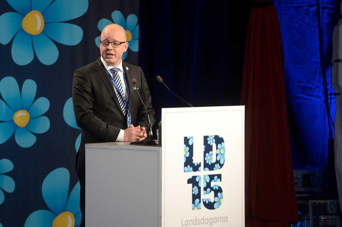 """Björn Söder ingick i """"De fyras gäng"""". Kvartetten har genom åren innehaft de tunga maktposterna som gruppledare, partiledare och partisekreterare."""