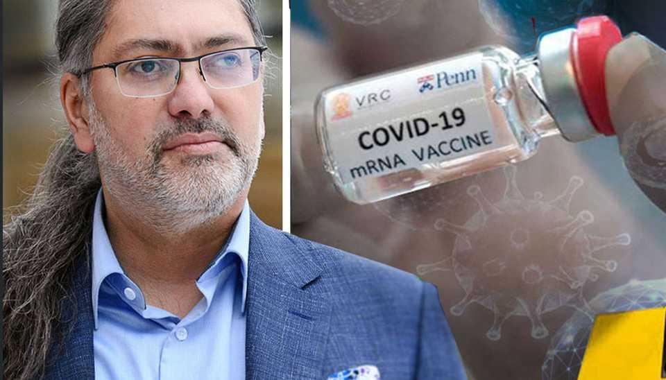 Ali Mirazimi, vaccinforskare vid Karolinska Institutet.