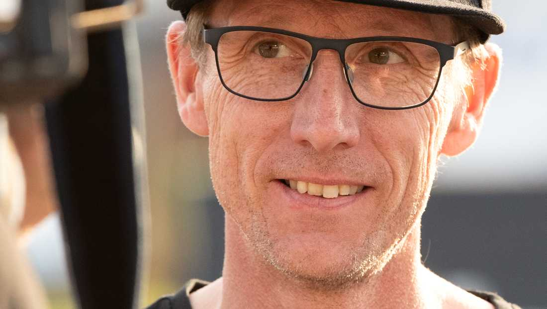 Dackarnas lagledare Peter Karlsson.