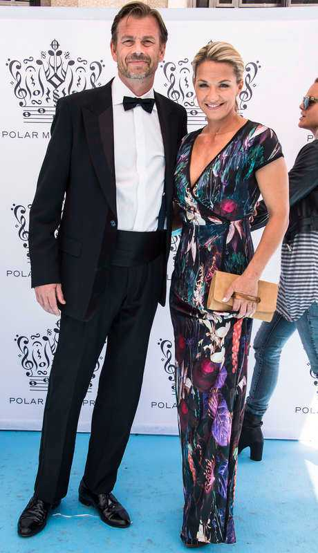 Michael Wolf var tidigare tillsammans med programledaren Kristin Kaspersen.