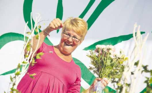 kraftutspel Centerledaren Maud Olofsson vill sälja en minoritetspost i statliga Vattenfall och satsa pengarna på ett riskkapitalbolag. Förslaget har mött massiv kritik från oppositionen. Foto: ROLF HÖJER