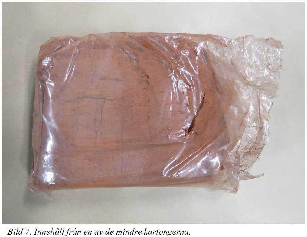I den uppblandade formen hade inte kokainet kunnat användas. Narkotikan hade behövt renas, och hos Christers vän hittades en lista över kemikalier som behövs i den processen.