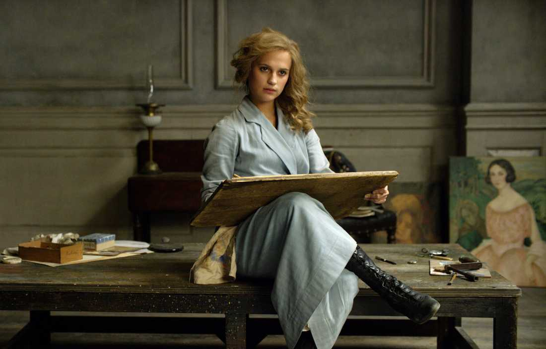"Alicia Vikander i ""The danish girl""."