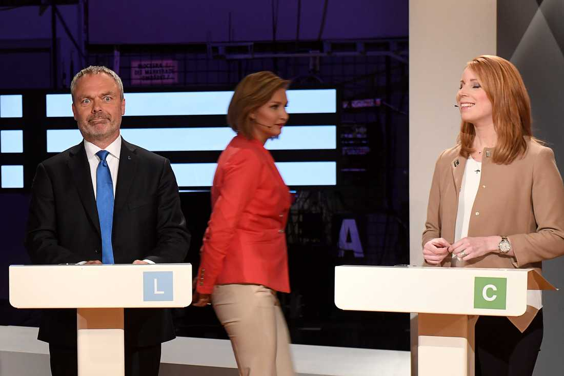 Björklund, Busch Thor och Lööf.