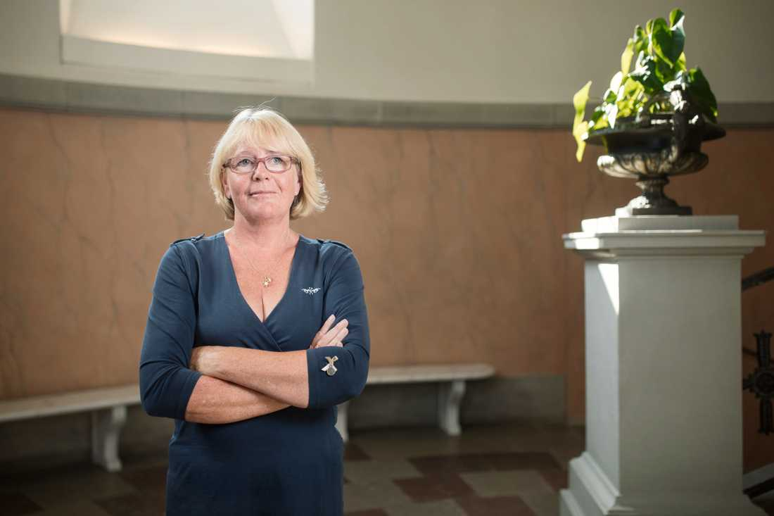 Irene Svenonius(M), finansborgarråd i Stockholm.