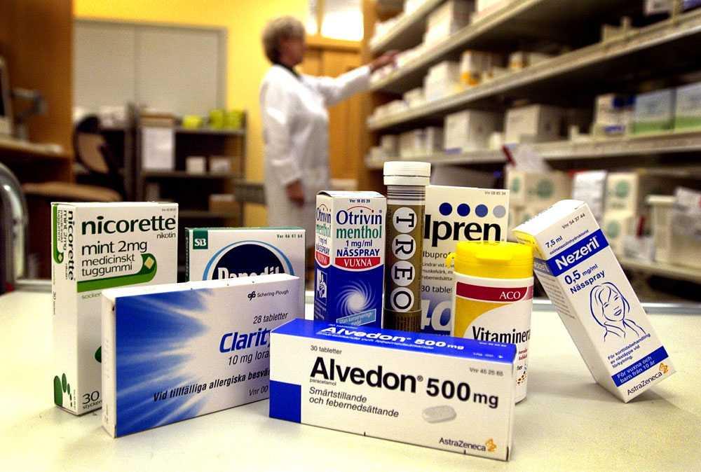 Snart i matbutik Antirökmedel, nässprej och värktabletter - några av de mediciner som livsmedelskedjorna vill sälja.