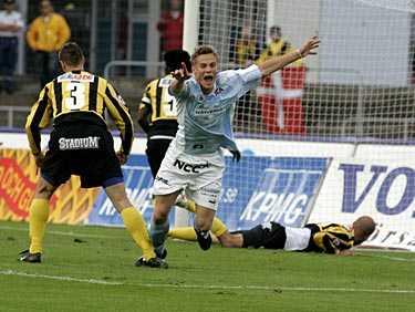 Mål i sista matchen. Markus Rosenberg lämnade Malmö med ett mål och en assist – nu väntar proffslivet i Ajax.