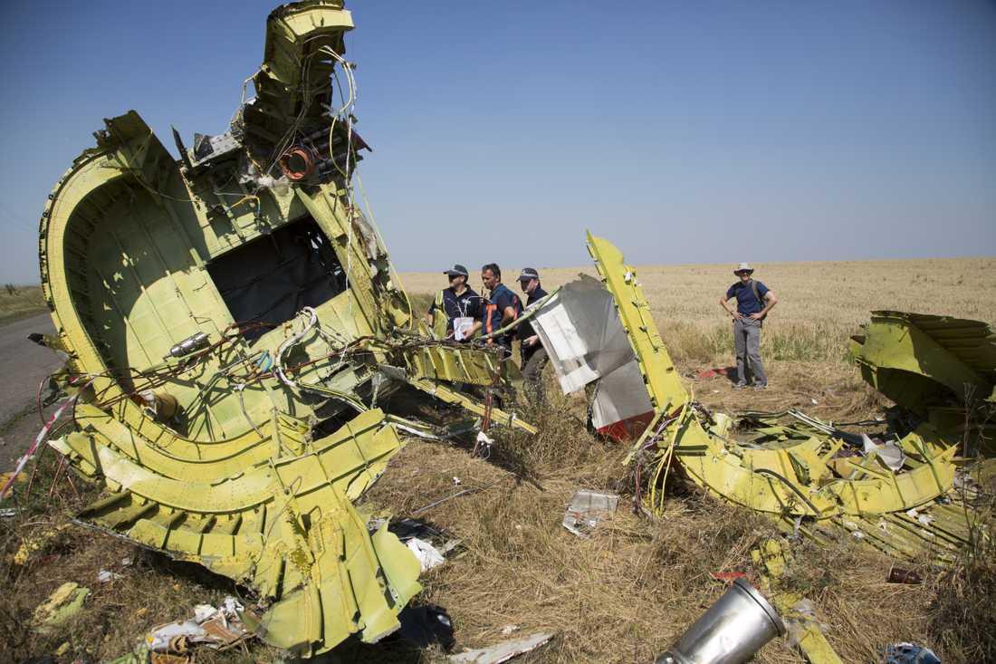 I dag är det ett år sedan MH17-planet från Malaysian Air sköts ner över östra Ukraina.