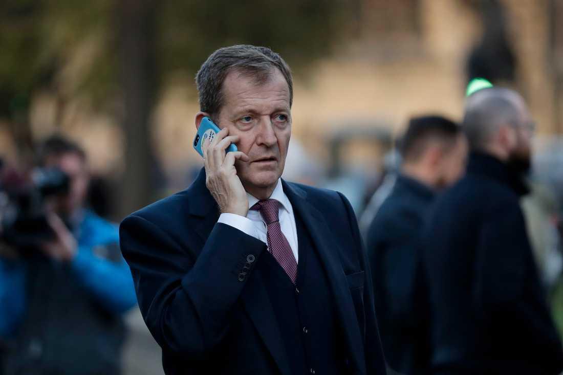 Alastair Campbell, tidigare var talesman för Storbritanniens förre premiärminister Tony Blair. Arkivbild.