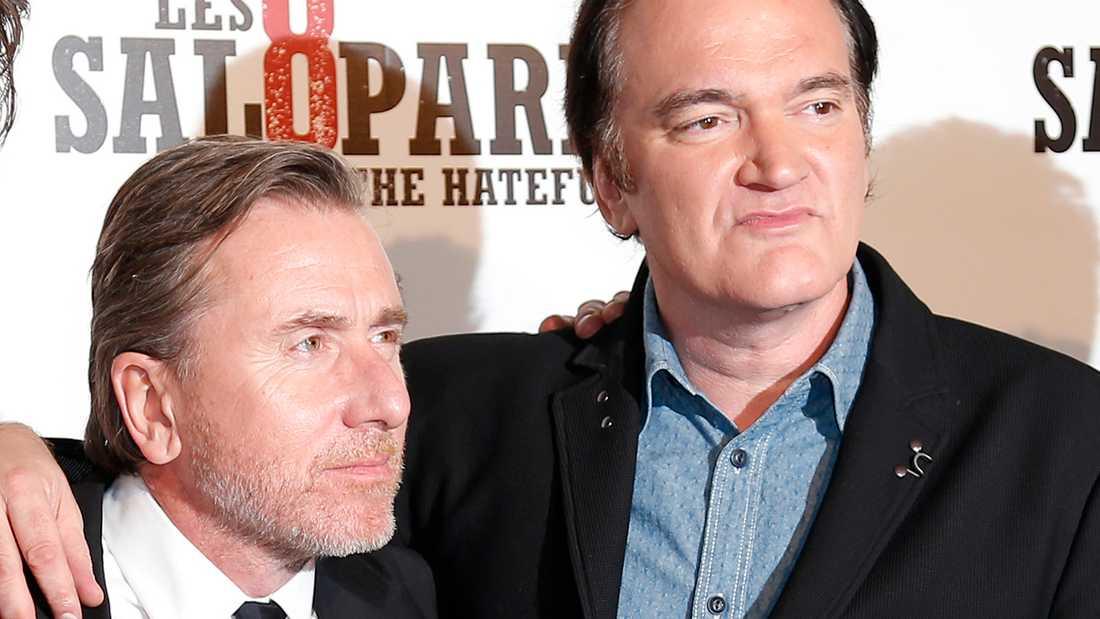 Tim Roth och Quentin Tarantino.