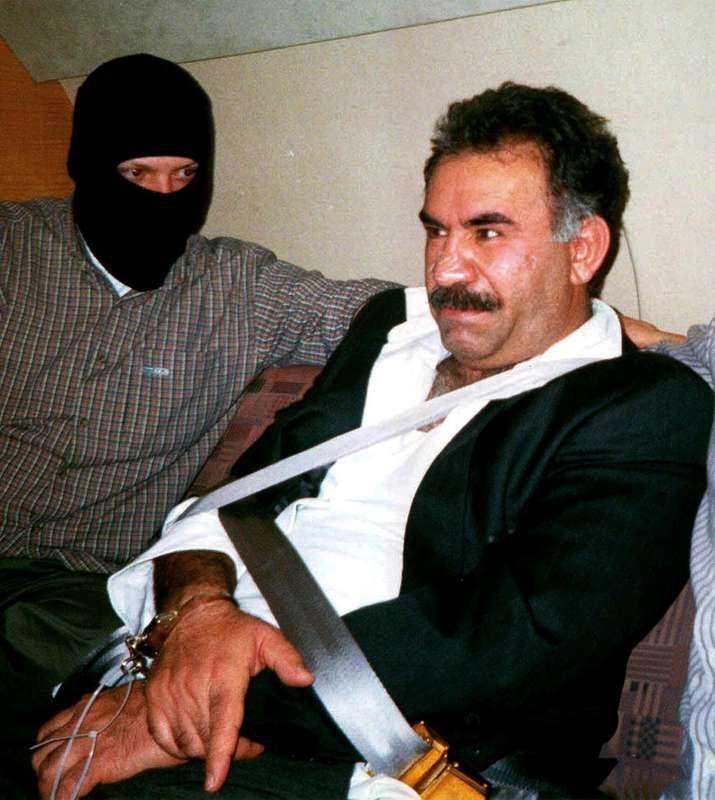 PKK-ledaren Abdullah Öcalan.