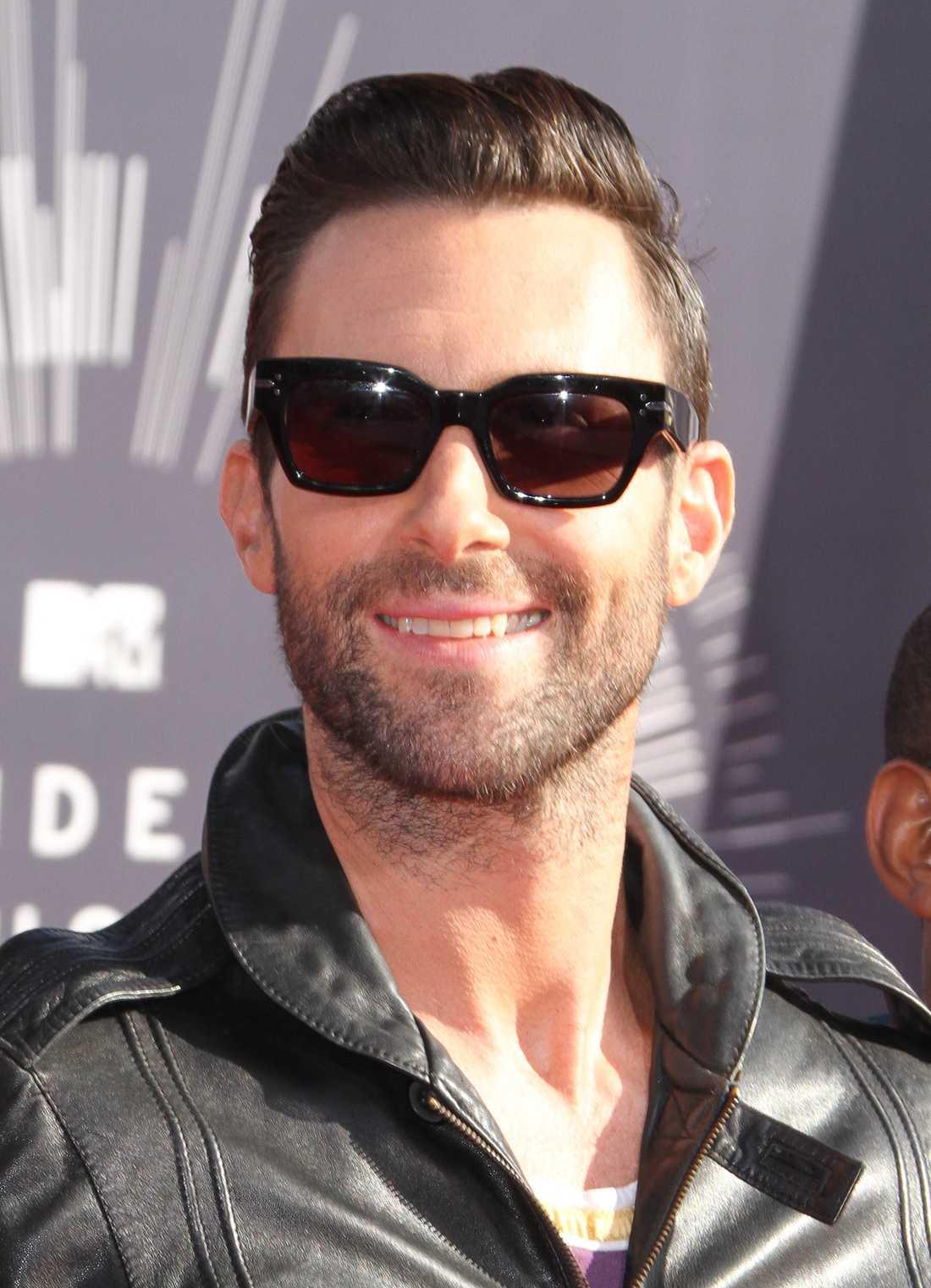 """""""Maroon 5""""-sångaren Adam Levine."""