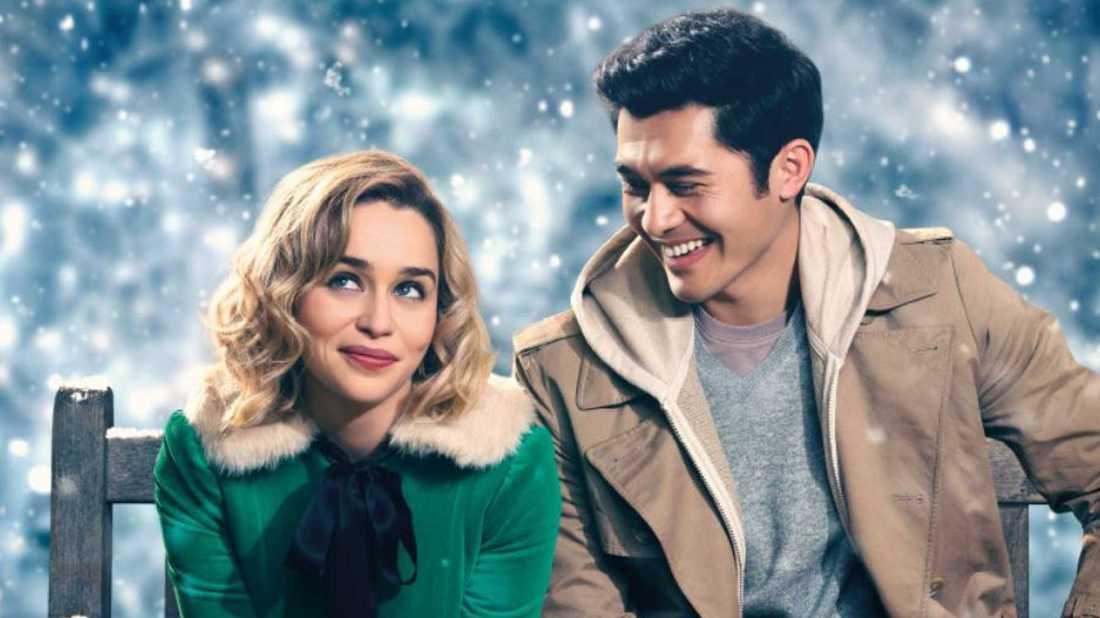 "Emilia Clarke och Henry Golding i ""Last christmas""."