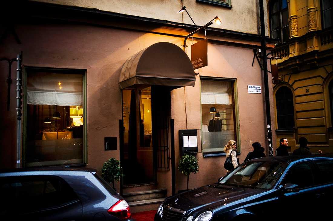 Frantzén/Lindeberg i Gamla stan i Stockholm rankas som världens 12:e bästa restaurang.