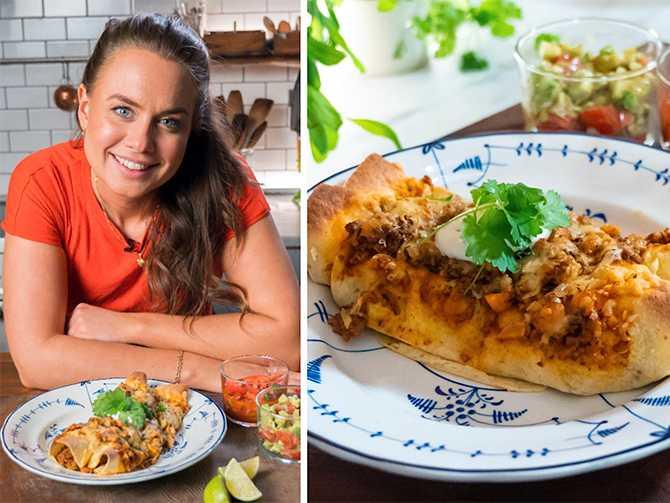 Världens smaker heter Sofia Henrikssons programserie. I det här avsnittet handlar det om Mexico och enchiladas.