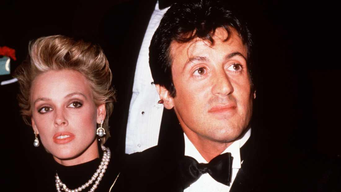 Brigitte Nielsen och Sylvester Stallone var gifta 1985–1987.