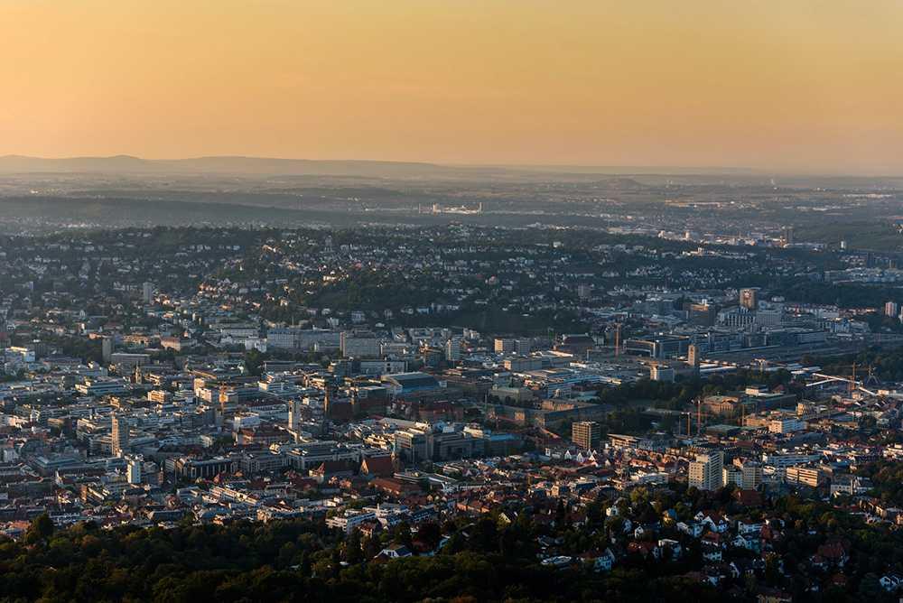 Stuttgart brottas med dålig luftkvalitet.