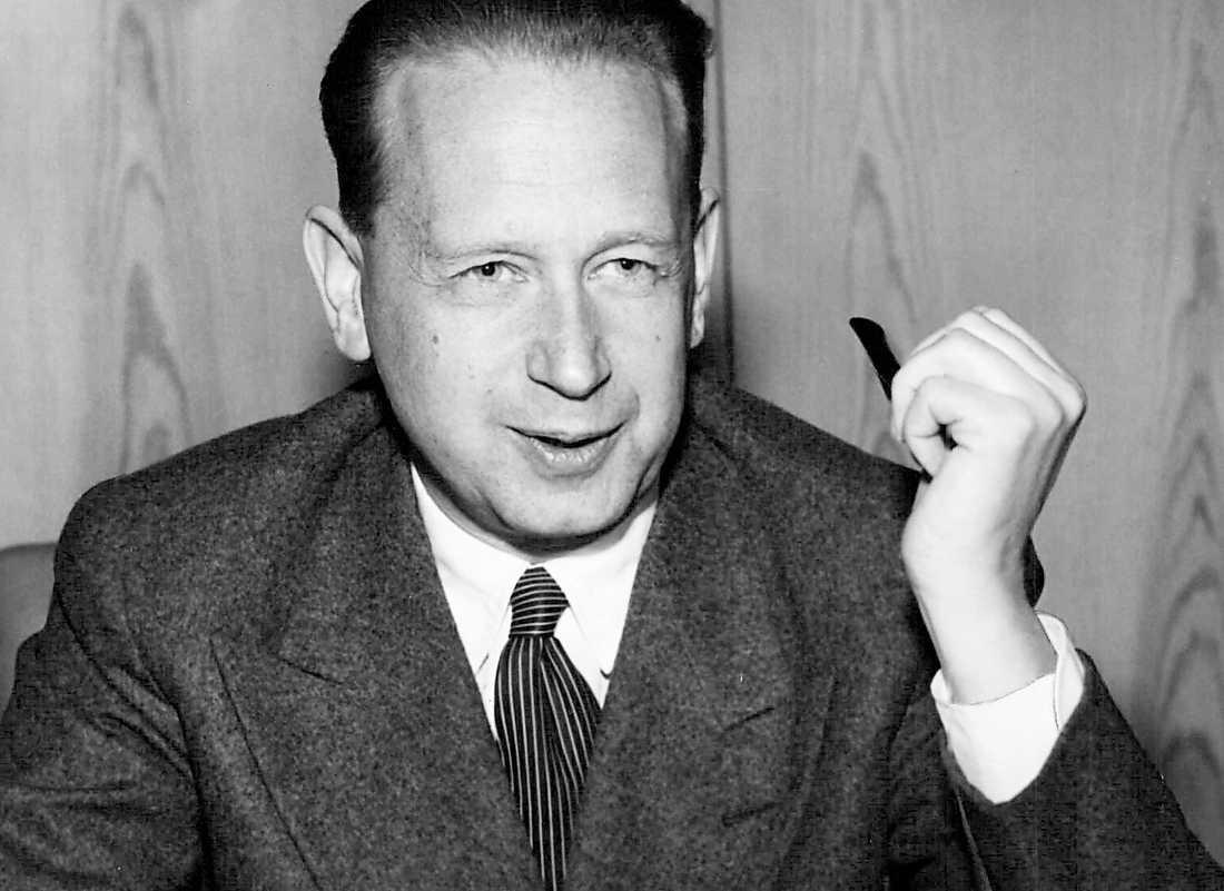 Dag Hammarskjöld, konservativ tänkare från förr.