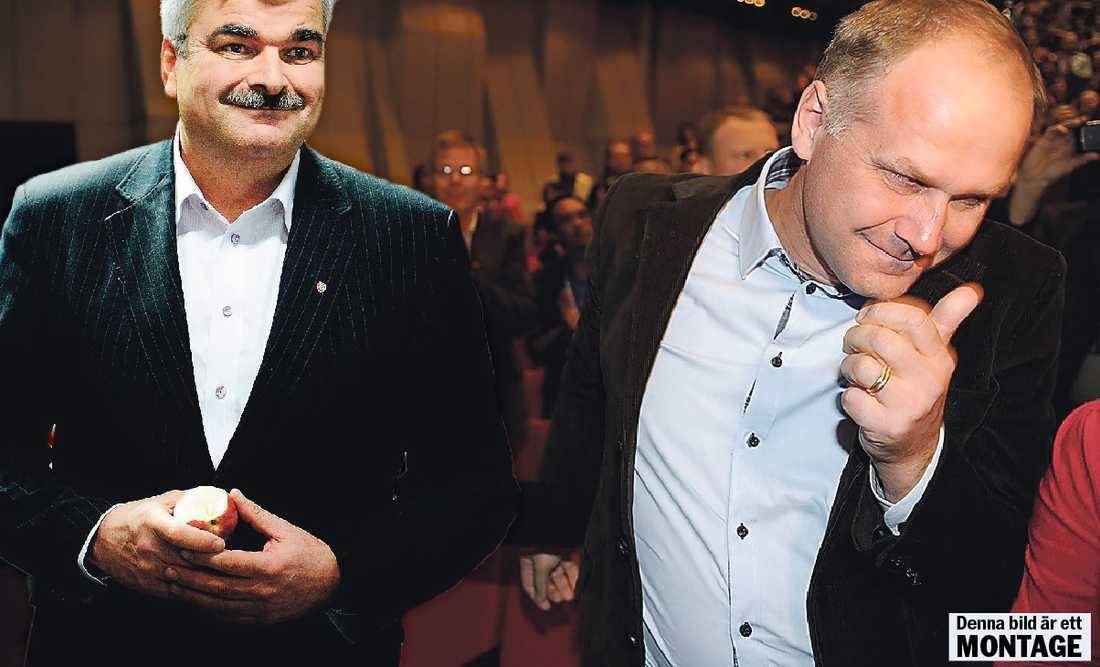 Måste rycka upp sig – tillsammans För att Sjösteds block ska vinna måste man locka tillbaka de gamla S-väljarna som gick över till Moderaterna 2006 – något som bara Socialdemokraterna kan göra.