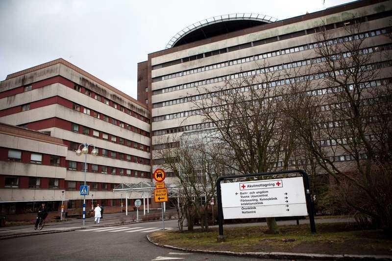 Universitetssjukhuset i Lund.