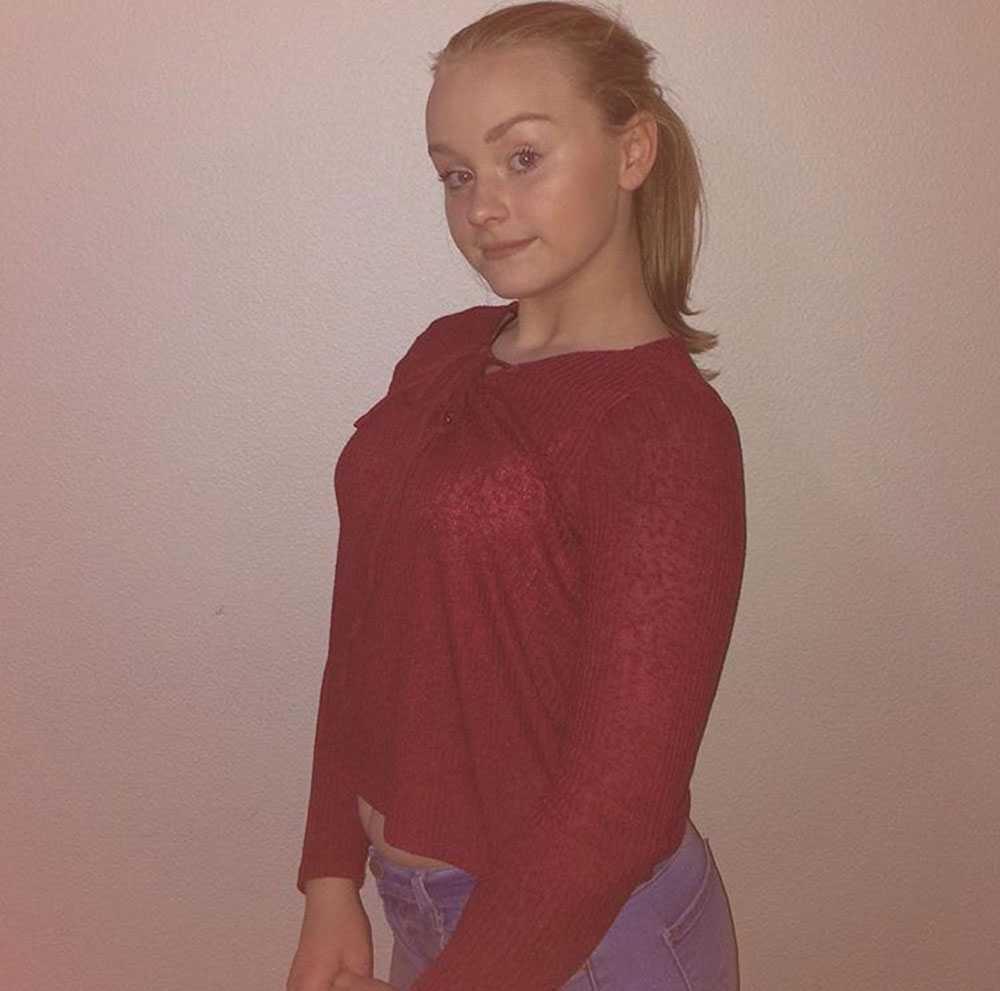 13-åriga Sunniva Ødegård.
