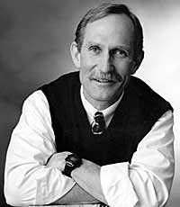 Forskaren Peter Agre - en av årets Nobel-pristagare i kemi.