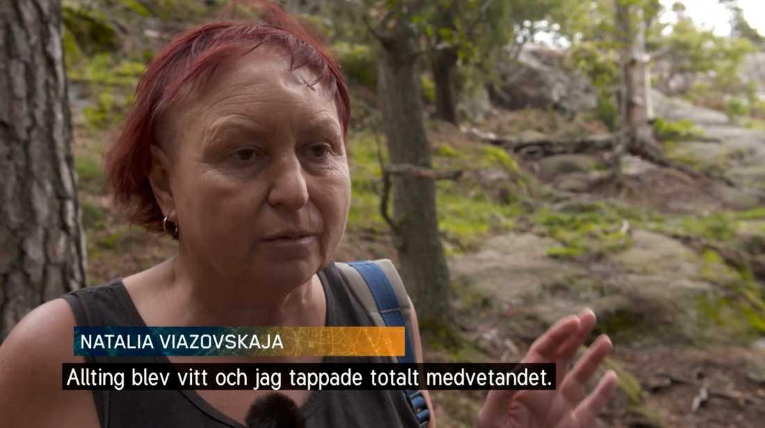 Natalia blev överfallen vid Hellasgården i Stockholm.