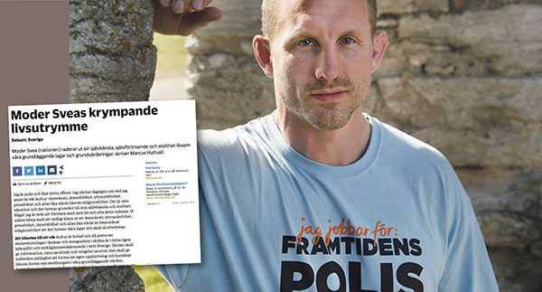 Svenska poliser är sannolikt bland världens bästa. Men vi är inte immuna mot populism, speciellt inte när kåren är under press, skriver polismannen Martin Marmgren med anledning av en debattartikel från en polis i NWT.