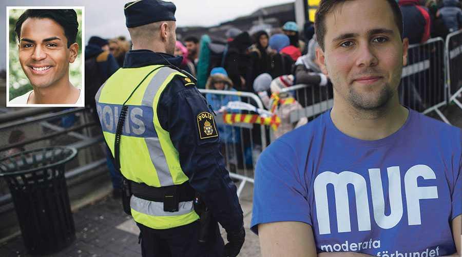 Under radarn för nyhetsbevakningen bestämde sig ungmoderaterna för att Sverige ska ha fri invandring på sikt. Det är oroväckande, skriver Philip Botström.