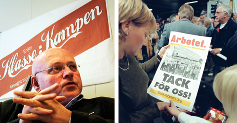 Bjørgulv Braanens socialistiska Klassekampen gör succé i Norge. År 2000 gick socialdemokratiska Arbetet i graven.