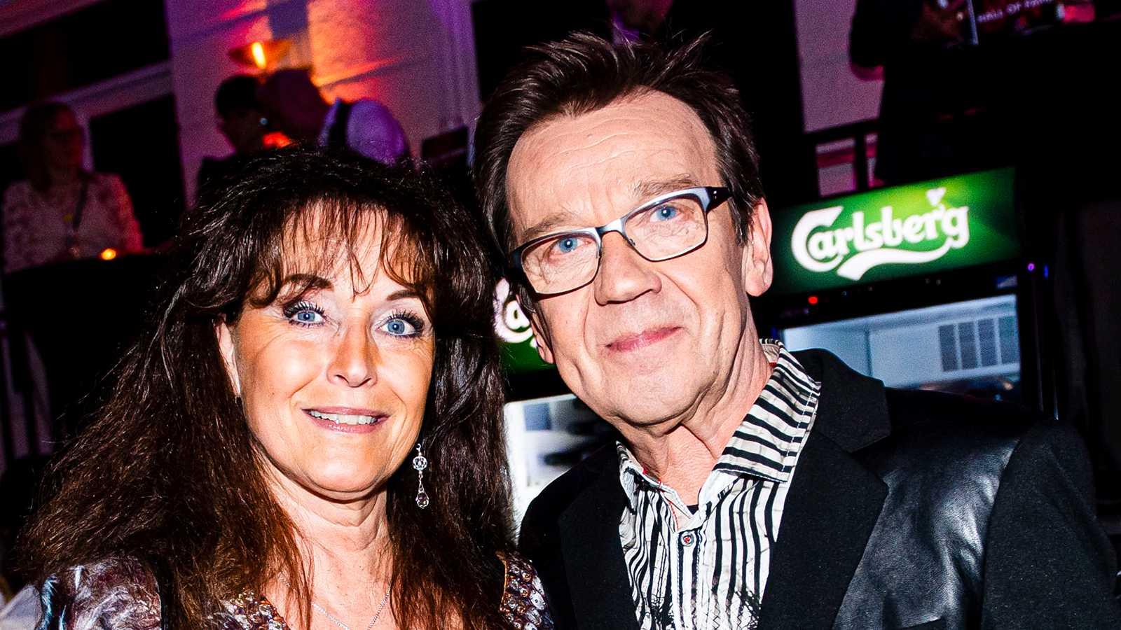 Pernilla och Björn Skifs.