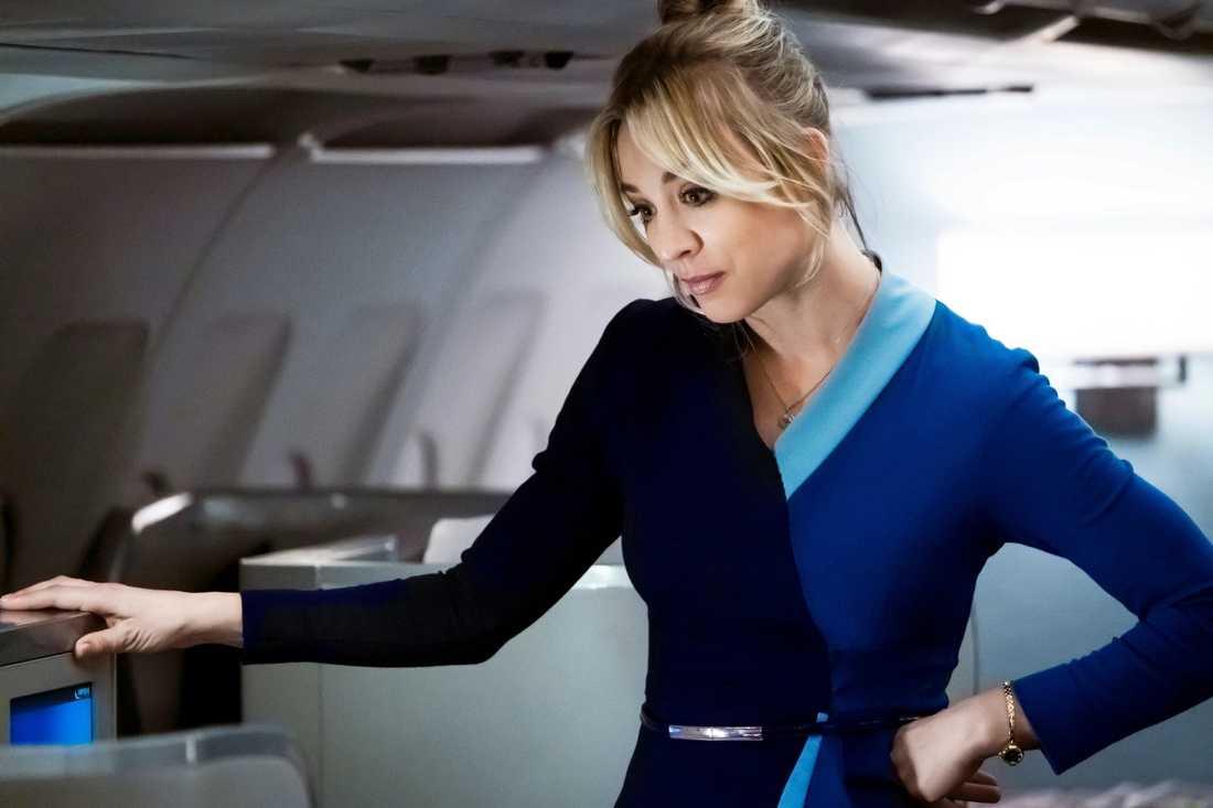 """The flight attendant""."