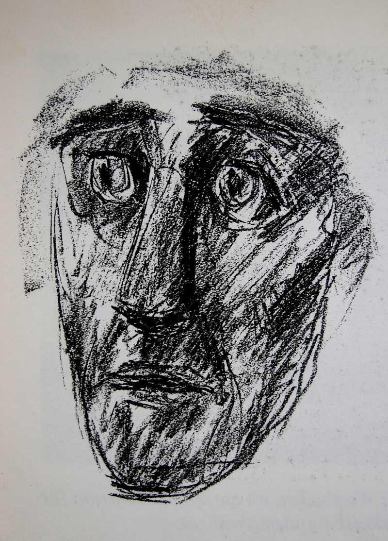 Vittnets teckning från biografen Grand visar tydliga likheter med Eugene de Kock, bland annat en väldigt stirrande blick.