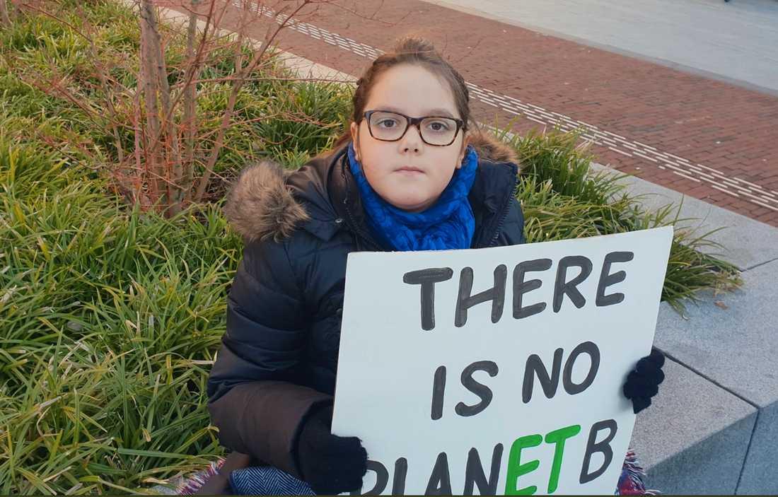 Lilly Platt, 10 år, Nederländerna
