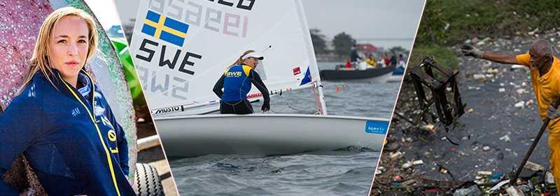 Josefin Olsson – av ett våra guldhopp i Rio.