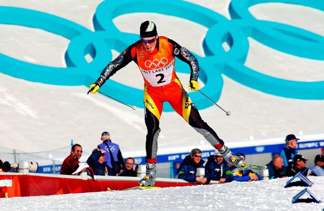 Johann Mühlegg åkte dopad under OS i Salt Lake City.