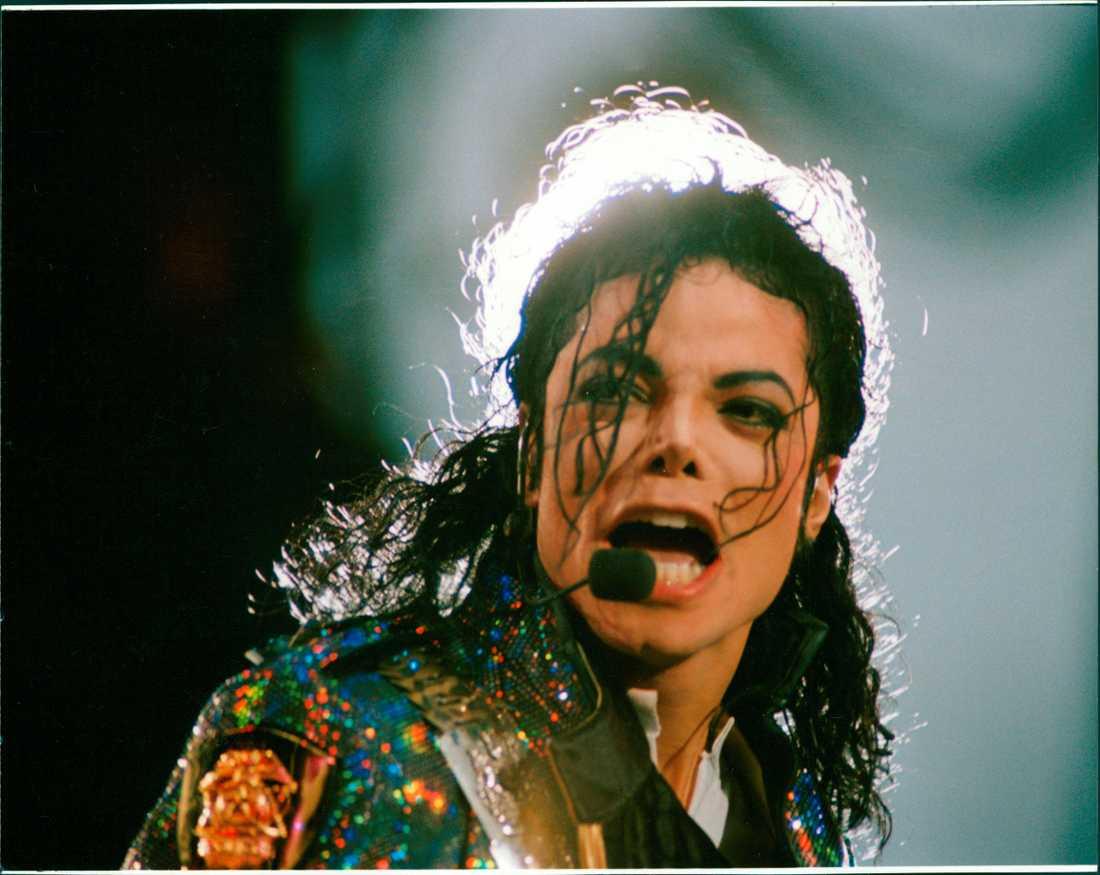 Michael Jackson på Stockholms Stadion