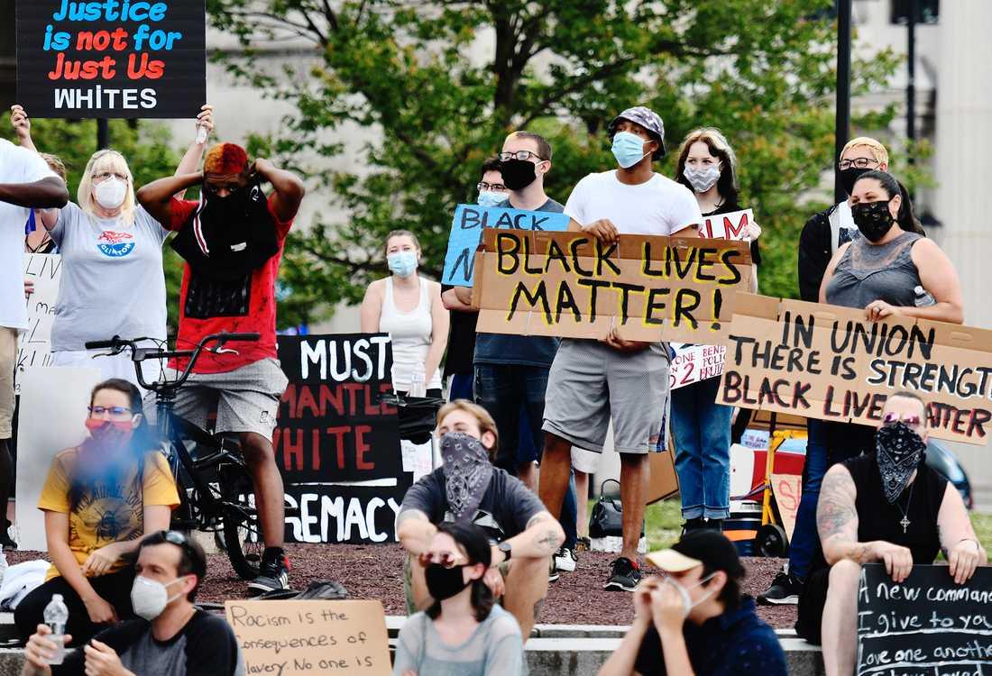 Black Lives Matter-rörelsen har de senaste veckorna genomfört demonstrationer i många städer i världen.