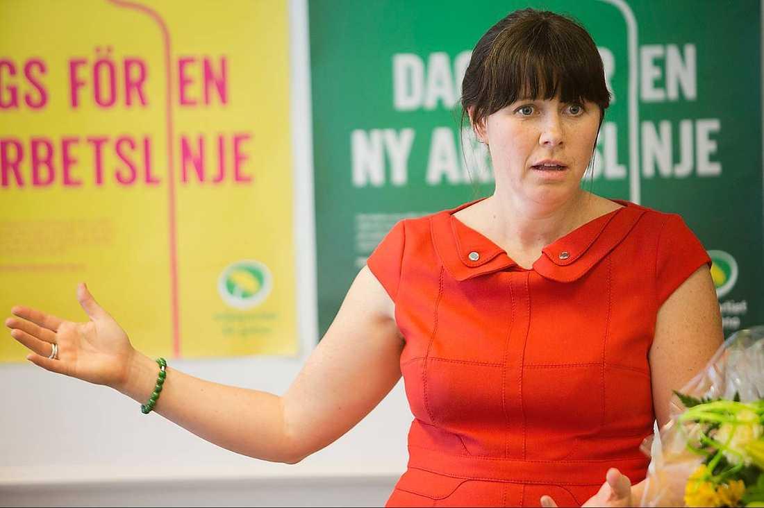 MP:s språkrör Åsa Romson.