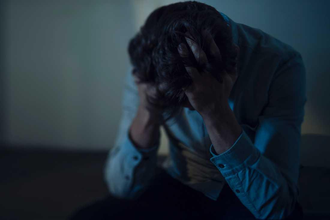 Under 2000-talet har antalet självmord bland barn och unga upp till 24 år ökat något. Precis som bland vuxna är pojkar överrepresenterade bland dem som tar livet av sig. Arkivbild.