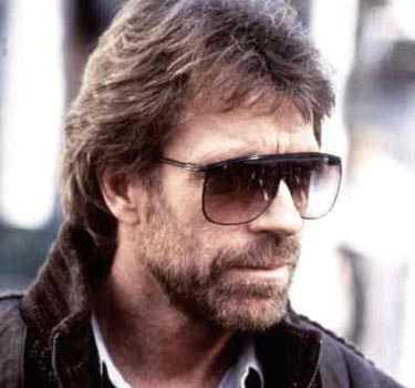 Kanske inte det största av skägg - men vem vågar säga det till Chuck Norris?