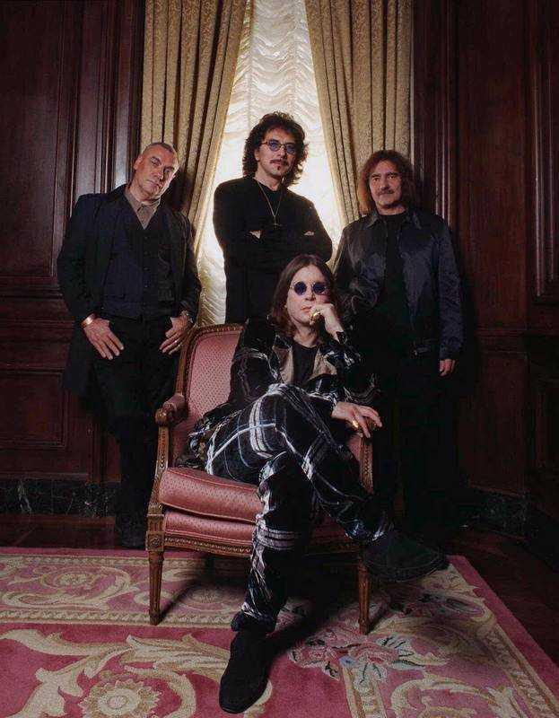 Black Sabbath. Från vänster: Bill Ward, Tony Iommi, Ozzy Osbourne och Geezer Butler.