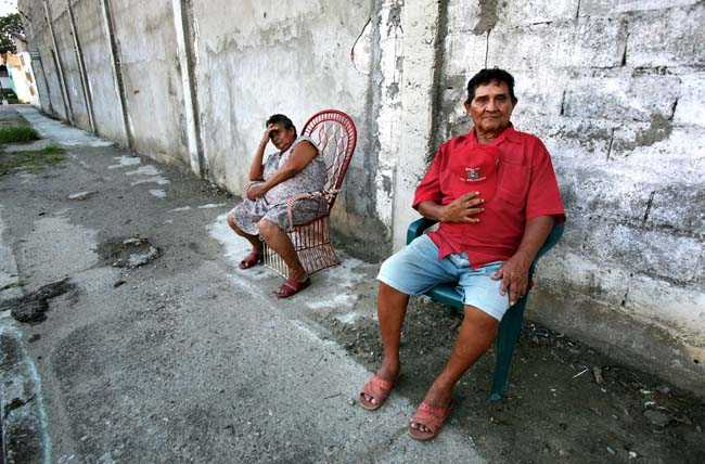 Chicho Romero var Hugo Chavez basebolltränare i Sabaneta.