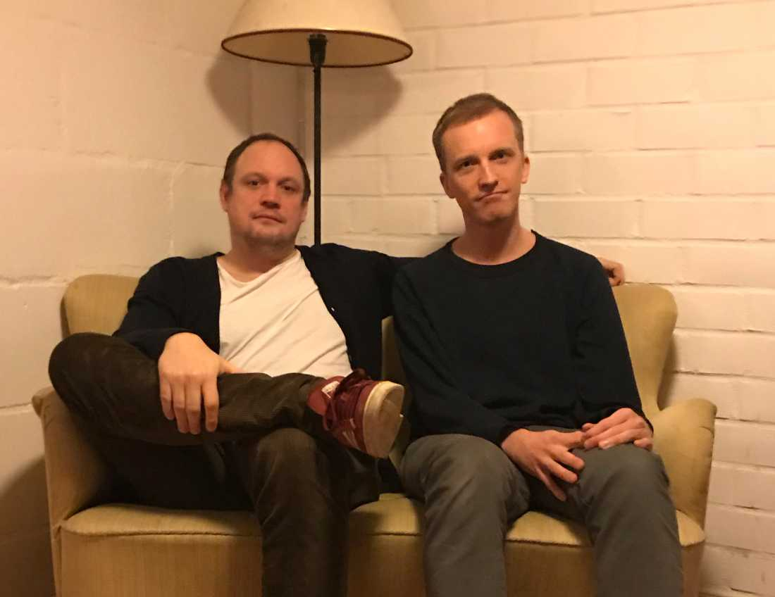 Jonatan Unge och Ola Söderholm.