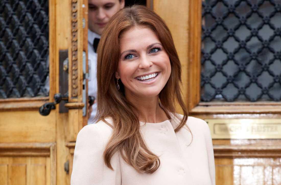 NYA LOOKEN Prinsessan Madeleine dök upp i Umeå med ny färg på håret.